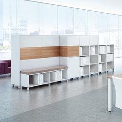 Intavis Stauraumsystem | Raumteilsysteme | Assmann Büromöbel