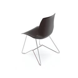 Kaleidos Cuoio | Multipurpose chairs | Caimi Brevetti