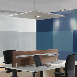 Acoustic solutions | Sound absorbing wall art | Assmann Büromöbel