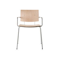 Don Chair with armrests | Sedie | ONDARRETA