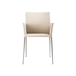 Moka Chair with armrests | Sedie visitatori | ONDARRETA