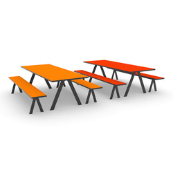K2 Eating | Restaurant tables and benches | JENSENplus