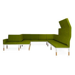 Reform with back | Waiting area benches | Johanson