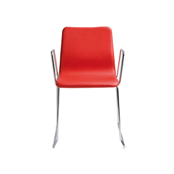 Nova Chair with armrests | Visitors chairs / Side chairs | ONDARRETA
