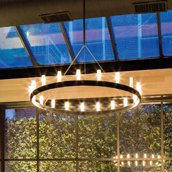 Chandelier Suspension lamp | Suspended lights | FontanaArte