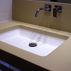 Encimeras lavabos concrete vanity top u oggi beton - Encimera de hormigon ...