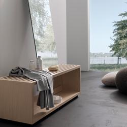 spirit Inspiration 11 | Sitzbank mit Körperspiegel | Bath stools / benches | talsee