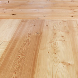 LARCH Country wide-plank brushed | natural oil | Wood flooring | mafi