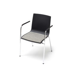 Seat cushion for S 161 by Thonet | Cojines para asientos | HEY-SIGN