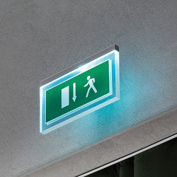 Led me go | Emergency lighting | FontanaArte