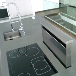 k chenarbeitsplatte ausschnittvarianten von oggi beton. Black Bedroom Furniture Sets. Home Design Ideas