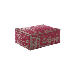 Canevas Pouf Soft Abstract Pink 1 | Poufs | GAN