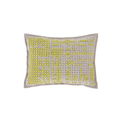 Canevas Cushion Abstract Yellow 6 | Coussins | GAN