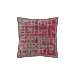 Canevas Cushion Abstract Pink 9 | Kissen | GAN