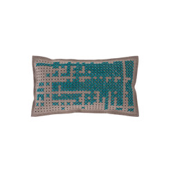Canevas Cushion Abstract Green 1 | Kissen | GAN