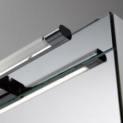 Spiegelschrank style Aufbauleuchte SpinaClear | Bathroom lighting | talsee