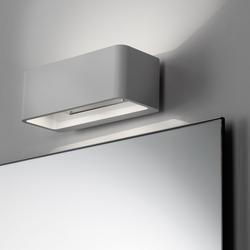 Spiegelwand mit Aufbauleuchte Wall | Bathroom lighting | talsee