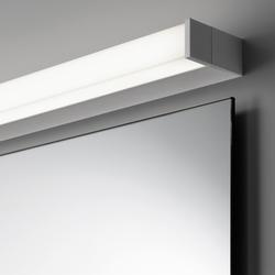 Spiegel pure mit Aufbauleuchte SpinaStrip | Lampade per specchi | talsee