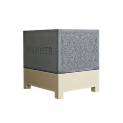 hammer pflanzk bel pflanzgef sse von oggi beton architonic. Black Bedroom Furniture Sets. Home Design Ideas