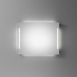 Spiegelwand cover mit senkrechten Leuchten | Wall mirrors | talsee