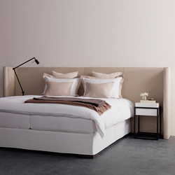 Menton headboard leather | Kopfteile | Nilson Handmade Beds