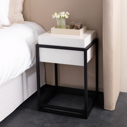 Menton table | Night stands | Nilson Handmade Beds