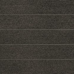 Slimtech Basaltina | Mosaico listello stuccata | Carrelage pour sol | Lea Ceramiche