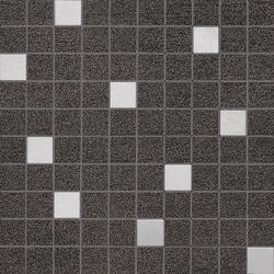 Slimtech Basaltina | Mosaico inox lappata | Piastrelle ceramica | Lea Ceramiche
