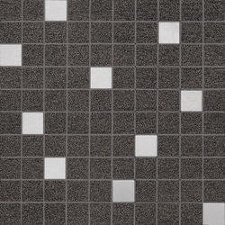 Slimtech Basaltina | Mosaico inox lappata | Floor tiles | Lea Ceramiche