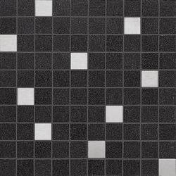 Slimtech Basaltina | Mosaico inox stuccata | Piastrelle/mattonelle per pavimenti | Lea Ceramiche