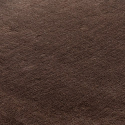 Studio NYC Polyester Edition solid brown | Rugs / Designer rugs | kymo