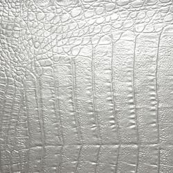 Croco FR Silver | Kunstlederbezüge | Dux International