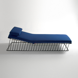 Wired Italic Chaise | Chaise longue | Phase Design