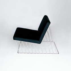Wired Italic Lounge Chair | Fauteuils d'attente | Phase Design
