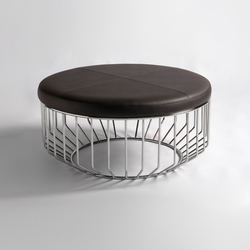 Wired Ottoman | Pufs | Phase Design