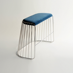 Bride's Veil Double Stool | Tabourets de bar | Phase Design