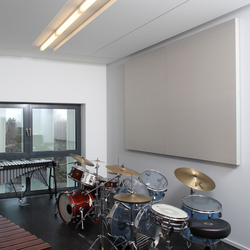 BaseLine│wall panel without frame | Sound absorbing wall systems | silentrooms