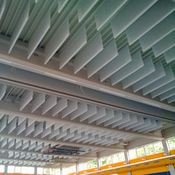 TecLine│baffle | Acoustic ceiling systems | silentrooms