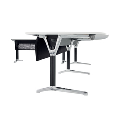 pulse conference table with c-leg | Mesas contract | Wiesner-Hager