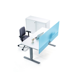 Spot Desk screen | Table dividers | Martela