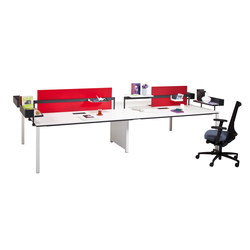 Barbari Operational Desk System | Sistemas de mesas | Koleksiyon Furniture