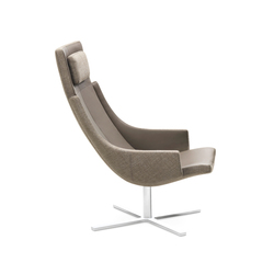 Model 1283 Link | High-Back Chair | Poltrone | Intertime