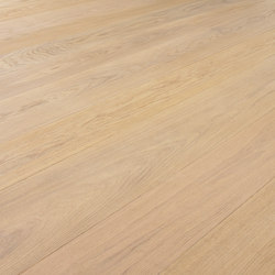 OAK Clear Wide-Plank brushed | white oil | Wood flooring | mafi