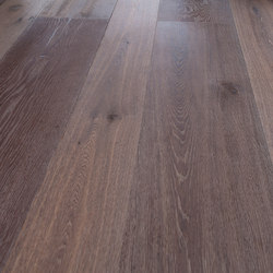 OAK Country Vulcano wide-plank brushed | white oil | Wood flooring | mafi