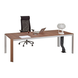 Quo Vadis Executive Desk System | Einzeltische | Koleksiyon Furniture
