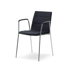 update_b Stacking chair with arms | Sillas de visita | Wiesner-Hager