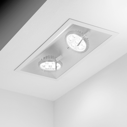 K-hole 2 total recessed trim | Illuminazione generale | Omikron Design