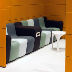Dilim Sofa | Waiting area benches | Koleksiyon Furniture