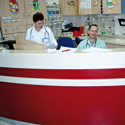 STARON® Reception counter | Reception desks | Staron