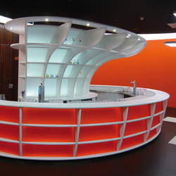 STARON® Sales counter | Shopfitting systems | Staron
